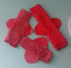Cloth Menstrual Pads.